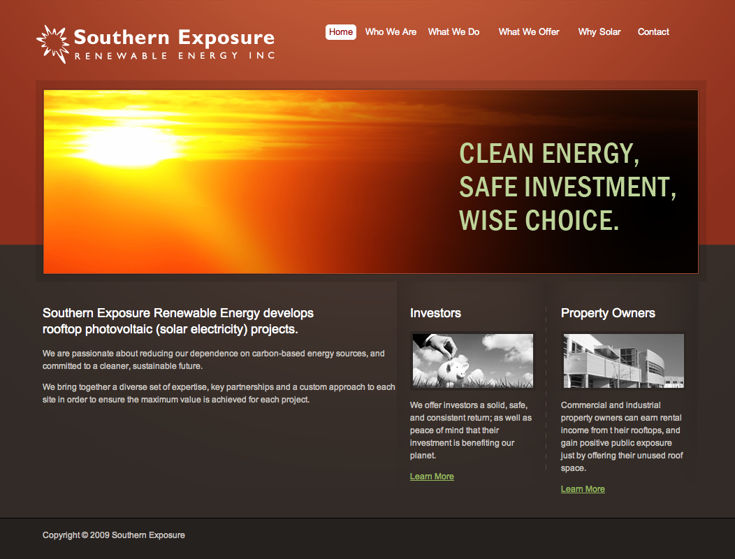 Web Development – Southern Exposure