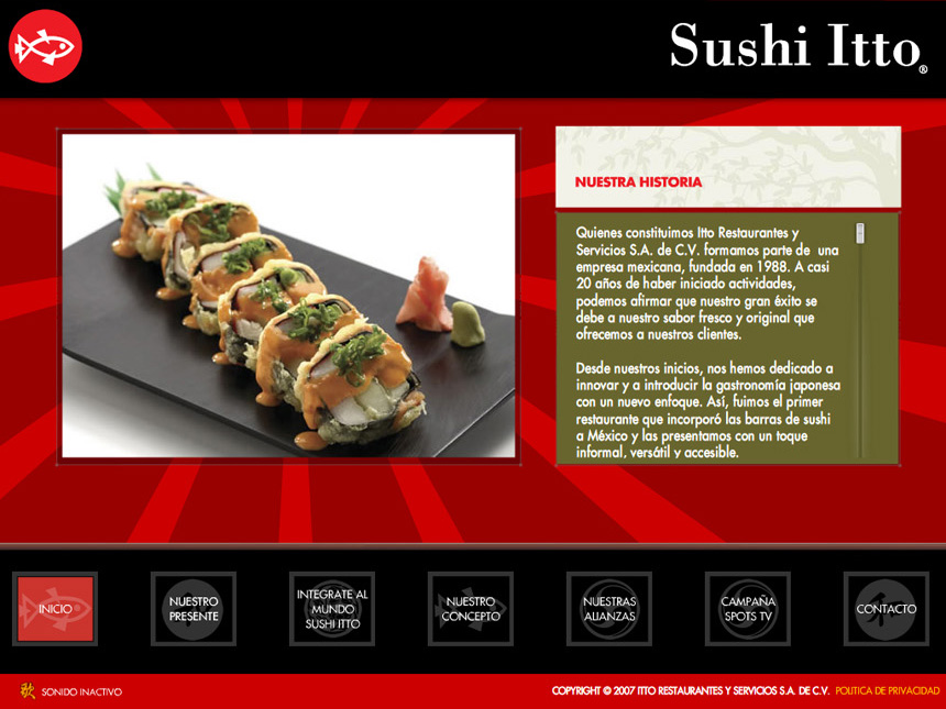 Sushi Itto Interactive CD