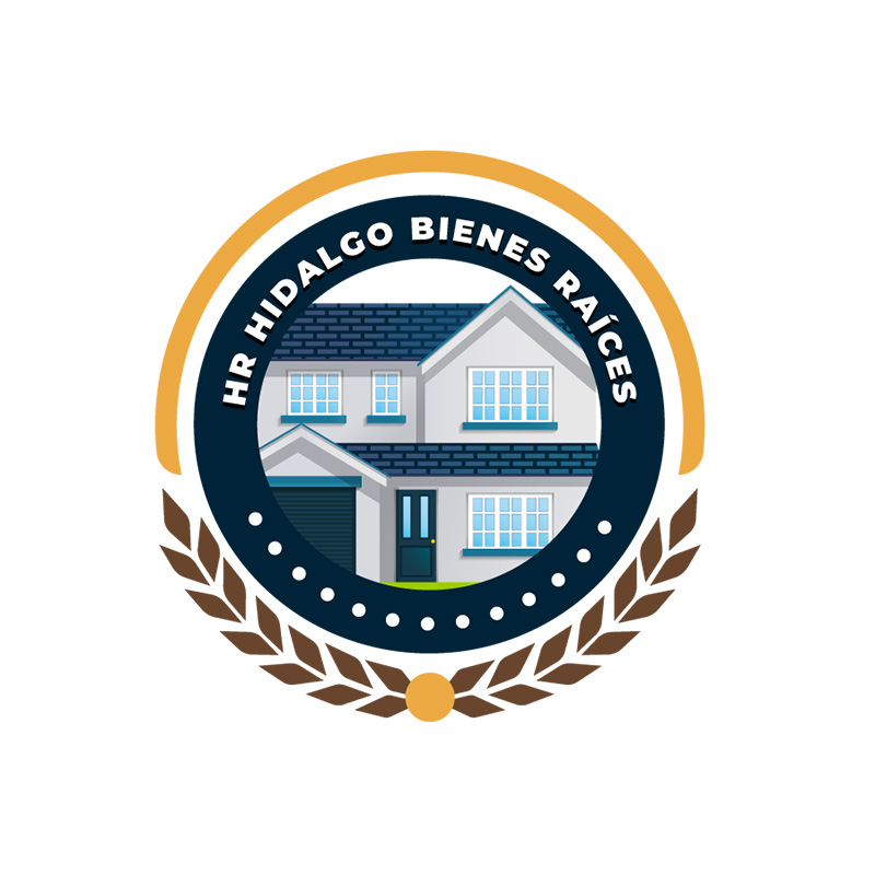 HR Hidalgo Bienes Raíces – Logo