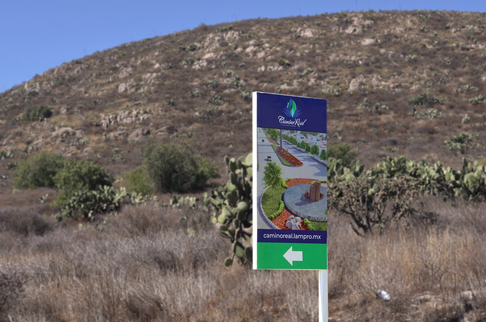 Camino Real – Outdoor Signage