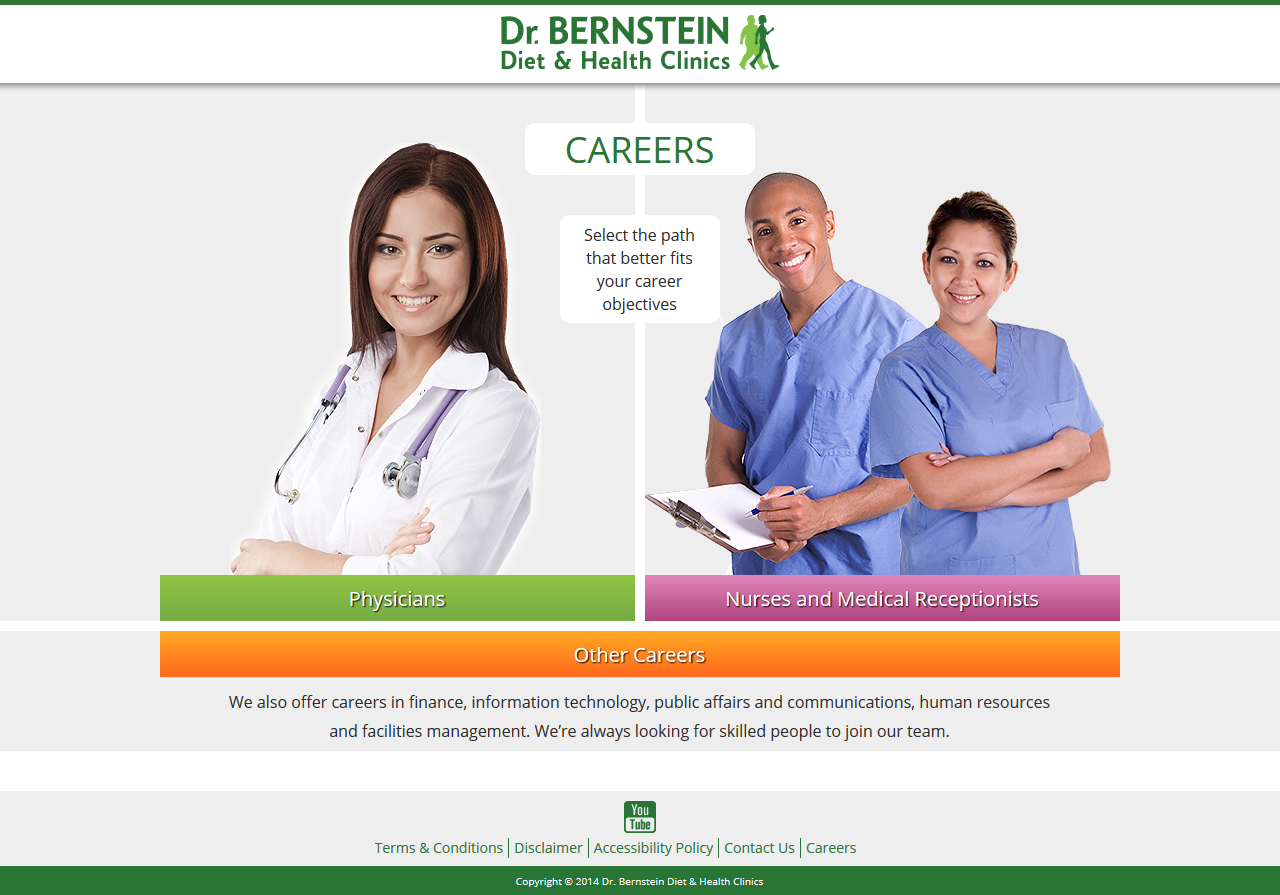 Bernstein Diet & Health Clinics – Careers