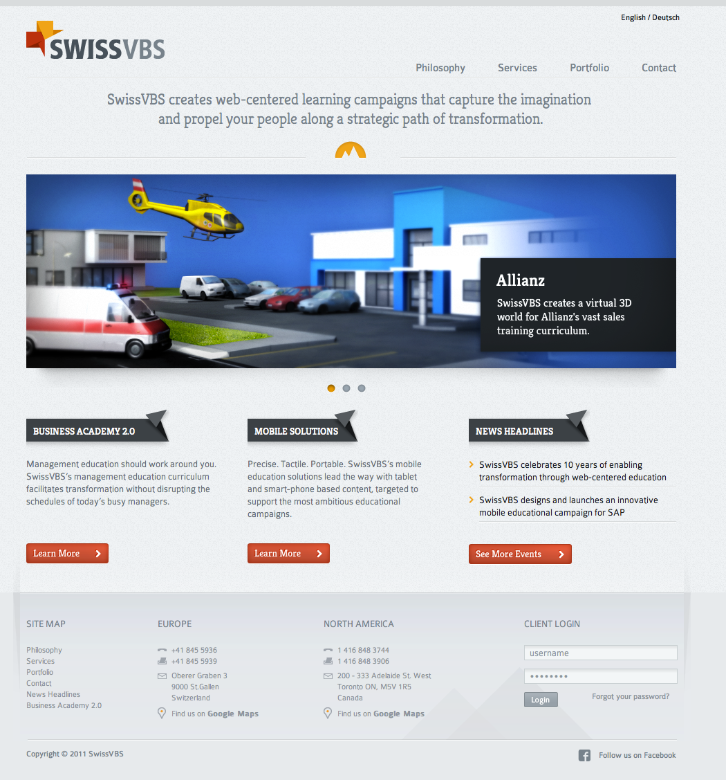 SwissVBS – Website