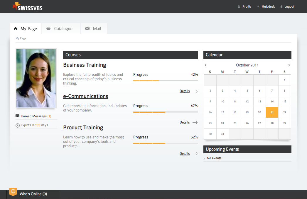 SwissVBS – Learning Management System