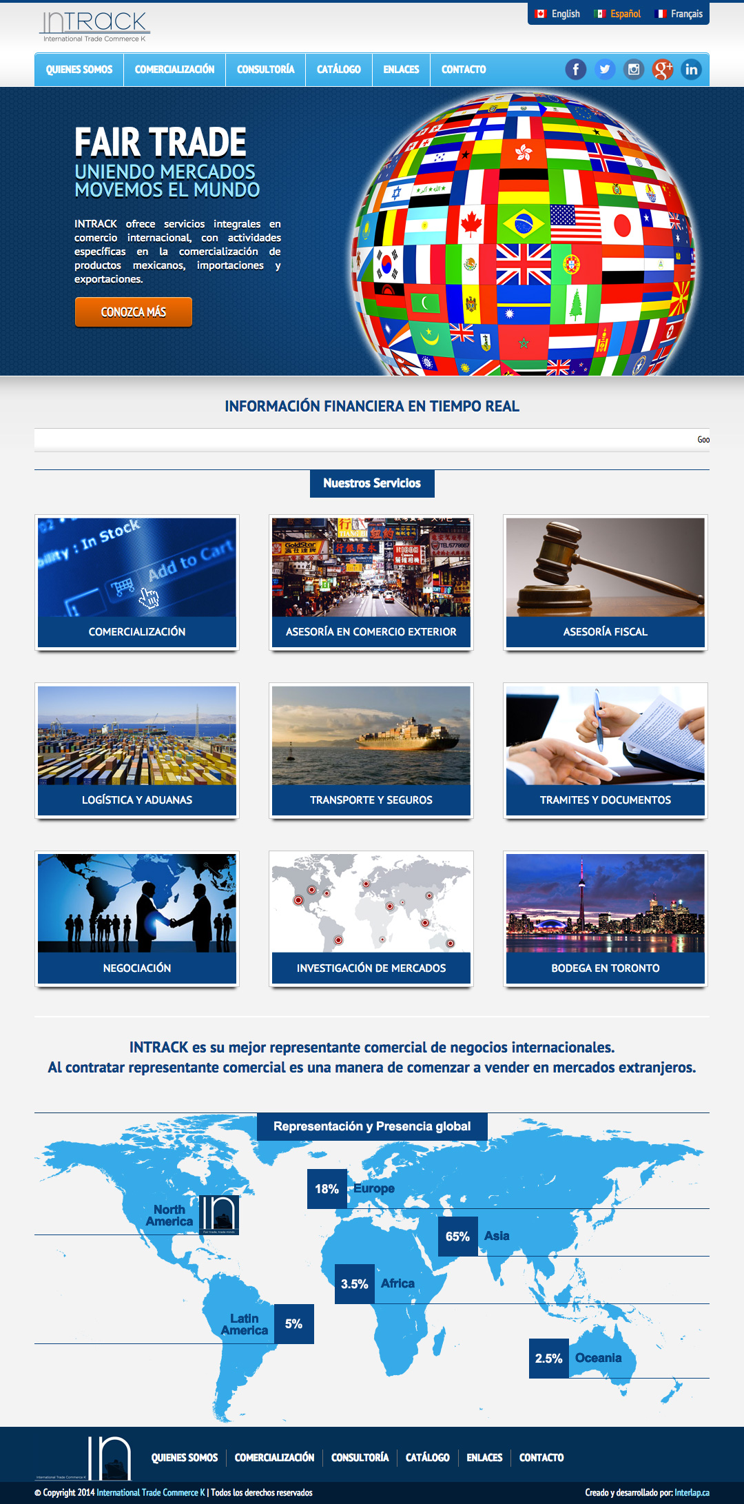 International Trade Commerce K – Website