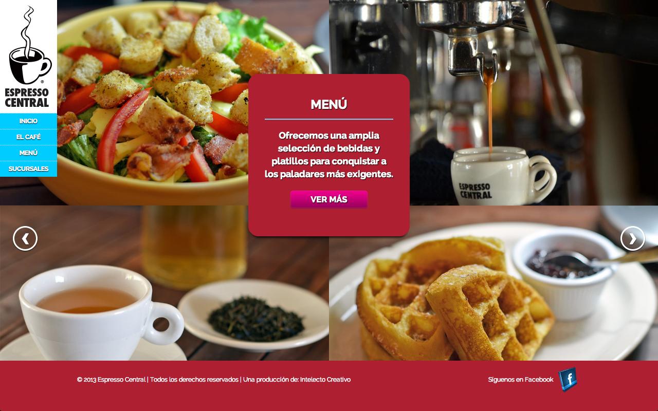 Espresso Central – Website