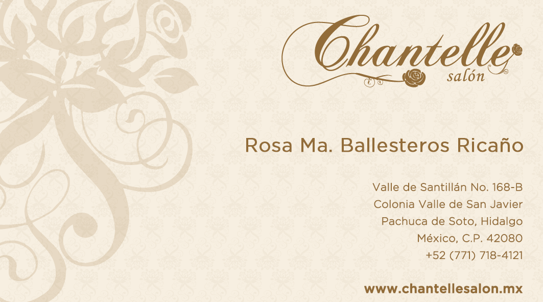 Chantelle Salón – Branding and Advertisement