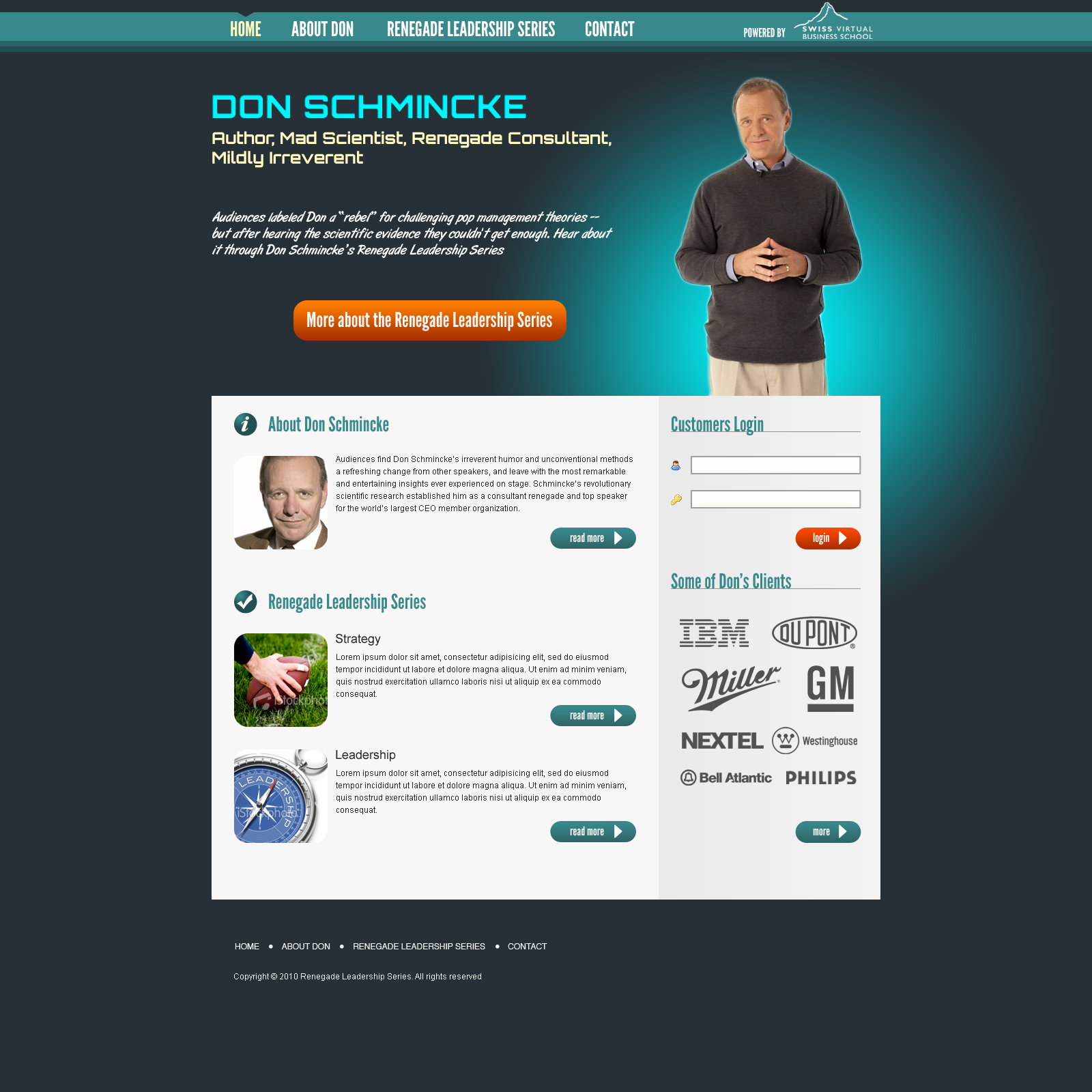 Don Schmincke – LMS